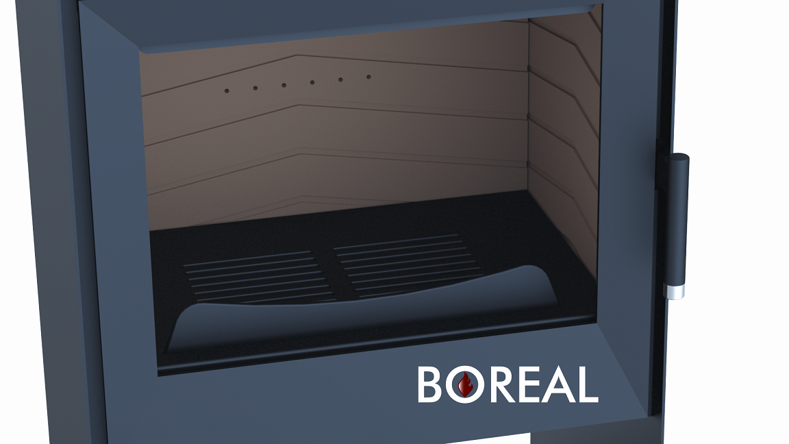Boreal EH7000 - krbové kachle s rúrou na pečenie
