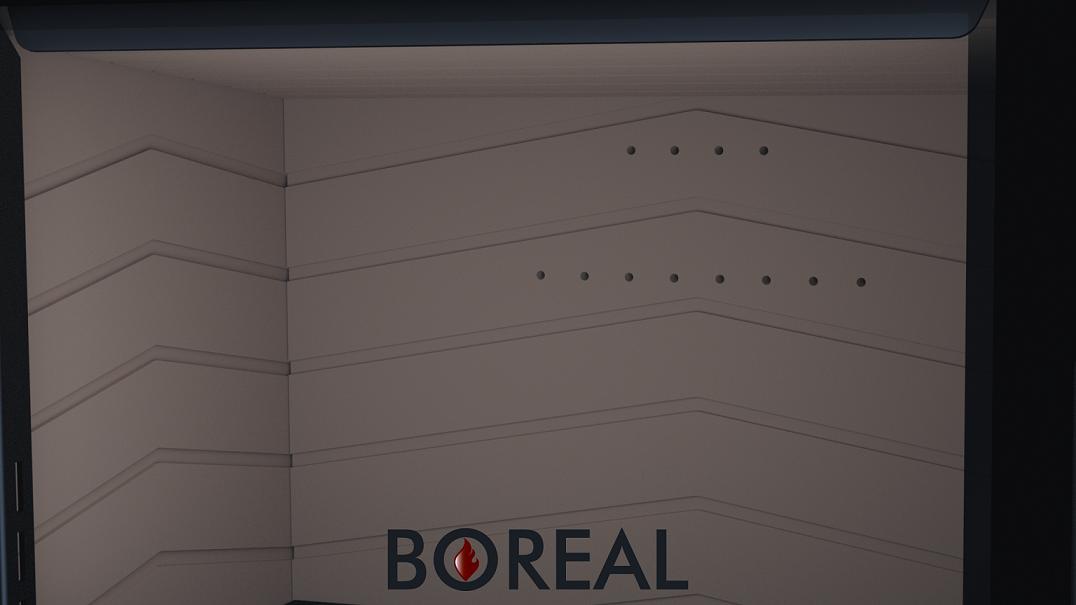 Boreal E1000 L - krbové kachle