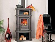 HERCULINA XL - litinová kamna krbová Globe-Fire