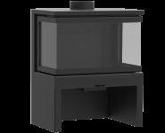 KFD STO M 14 3F - kamna trojstranná litinová KF Design