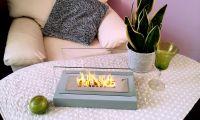 Bio krb Home šedá - volně stojící biokrb GM