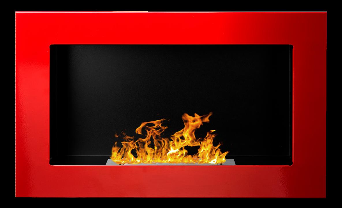 Biokrb závěsný 650 x 400 červená lesklá GM