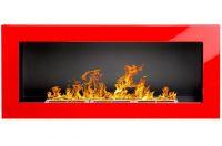 Biokrb závěsný 900 x 400 červená lesklá