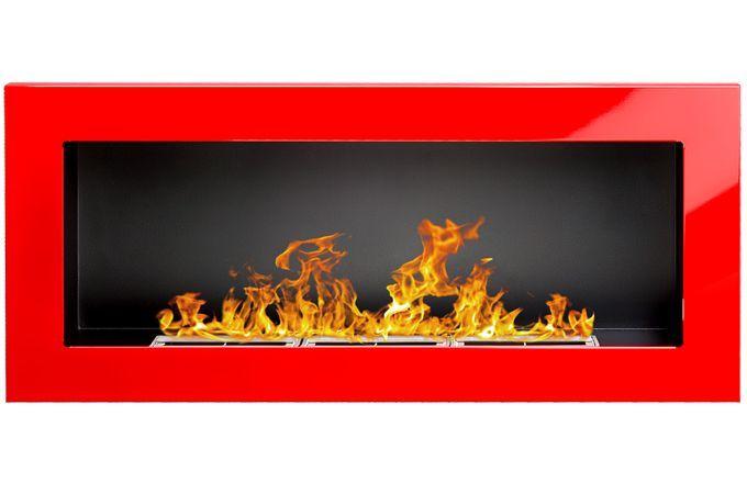 Biokrb závěsný 900 x 400 červená lesklá GM