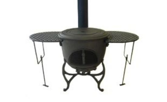 Litinový stolek pro krb VULKAN Globe-Fire
