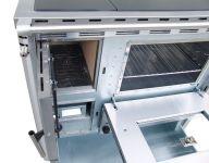 Senko SG-75 inox mat - sporák na dřevo