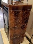 Espoo II keramik diamant hnědá - kamna Omatakka
