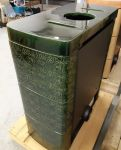 Espoo II keramik diamant zelená - kamna Omatakka